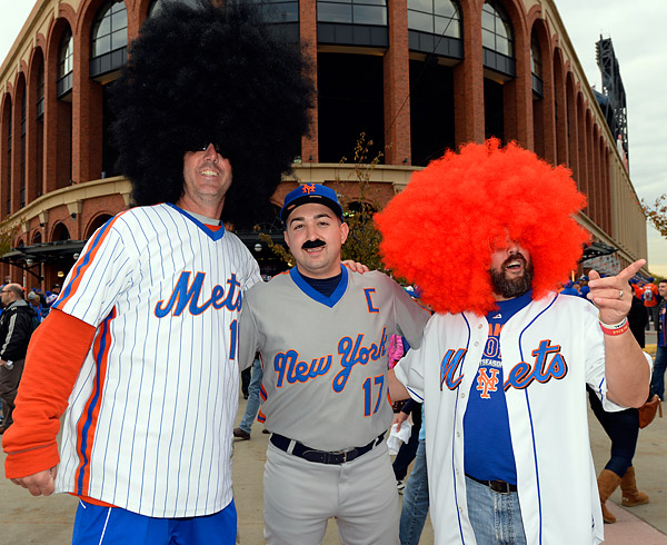 Even Keith Hernandez showed up on Halloween at Citi Field prior to Game Four of the 2015 World Series. (Photo by Ron Vesely/MLB Photos)